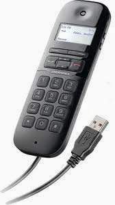 Calisto VoIP Phone/Device Handset Optimized for Microsoft Office Communicator 2007 and Microsoft Lync 2010