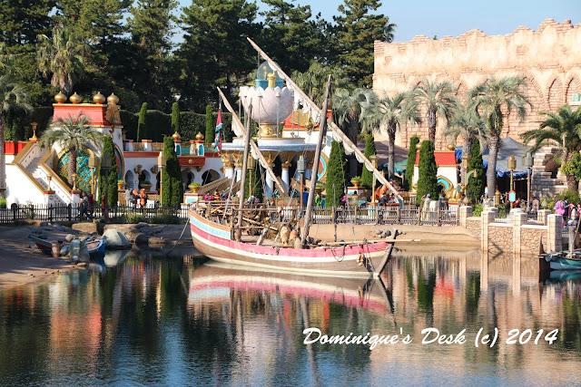 The Arabian Coast in Tokyo Disneysea