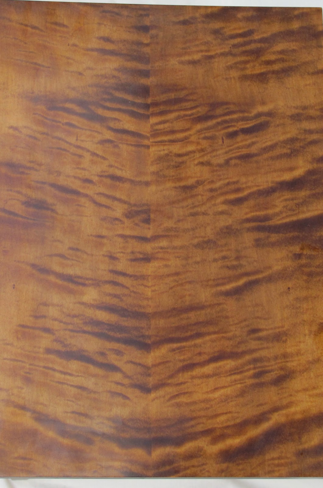 Curly Maple Wood ~ Tiger wood furniture design ideas
