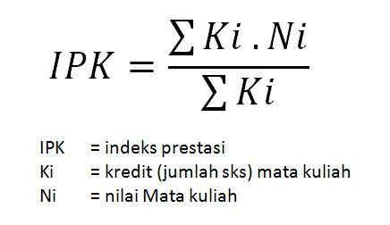 Cara Menghitung IPK di Ms Excel : Tutorial excel 2010