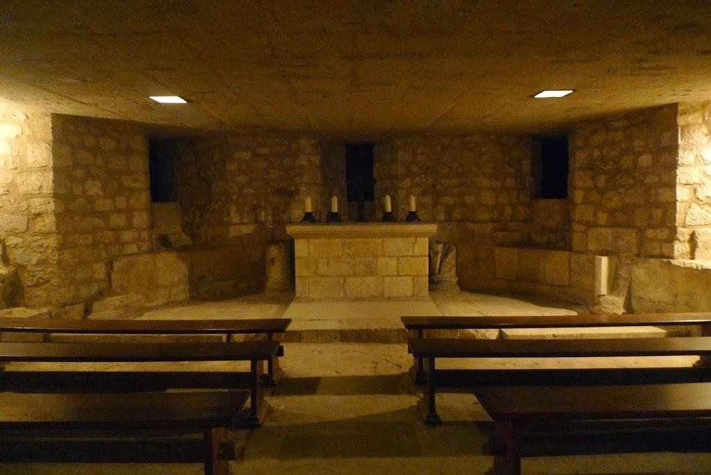 rouen crypte cathédrale