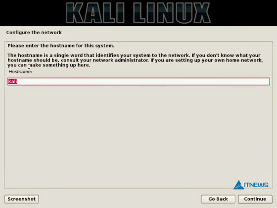 Install-Kali-Linux