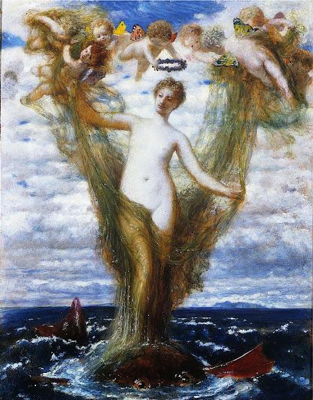 Arnold Böcklin - Venus Anadyomene