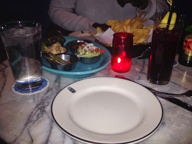Ocho restaurant salsa platter