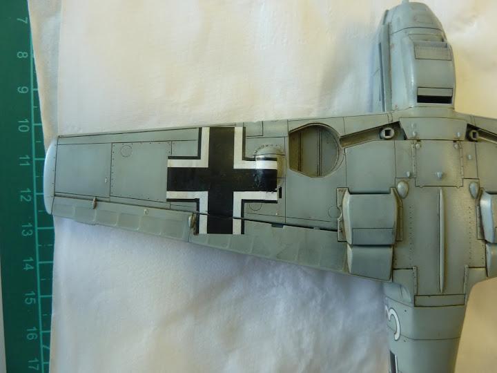 Bf-109 E-3 Tamiya 1/48 - Reforma pintura P1020522