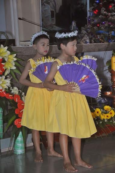 Hình ảnh canh thức giáng sinh 2014 nhà thờ Khiết Tâm