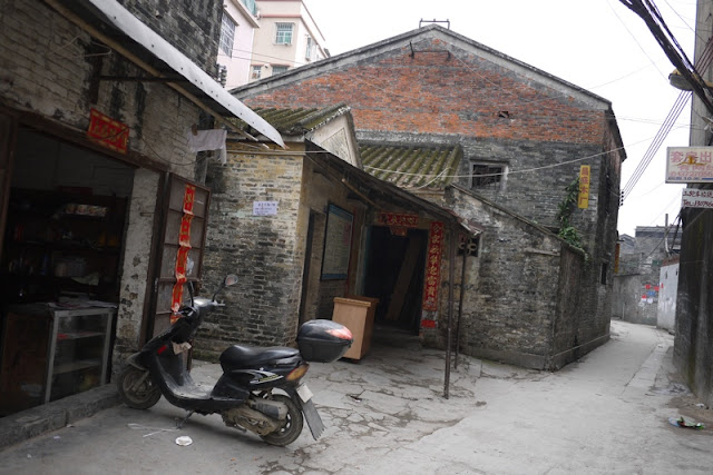 older buildings in Nanping, Zhuhai
