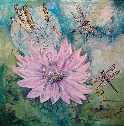 """Dragonflies"" by Artist Serena Boschert"
