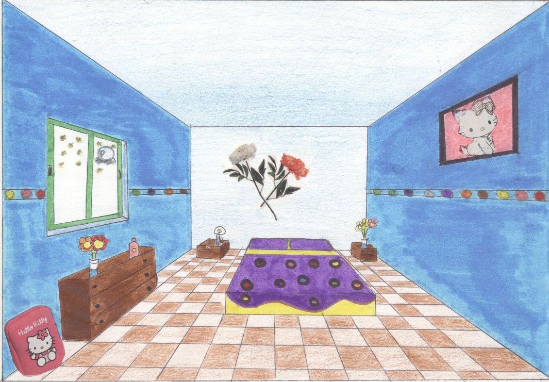 Artecalero dise o de una habitaci n en c nica frontal - Diseno de una habitacion ...