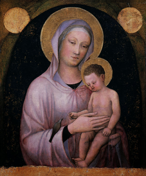 Jacopo Bellini - Virgin and child, ca.1440