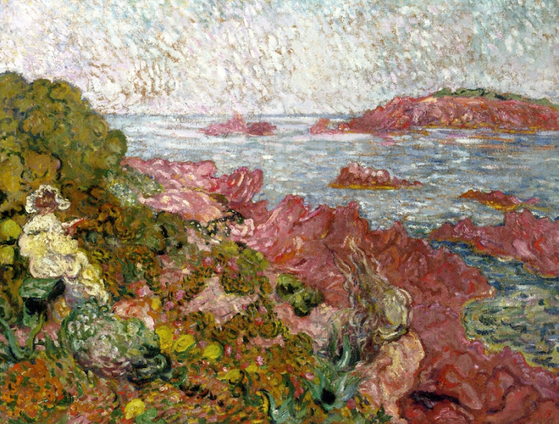 Louis Valtat - By the Sea