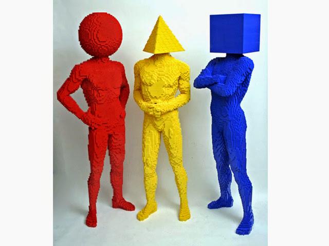 これがレゴとは信じられない!ネイサン・サワヤ氏のスーパーレゴアート