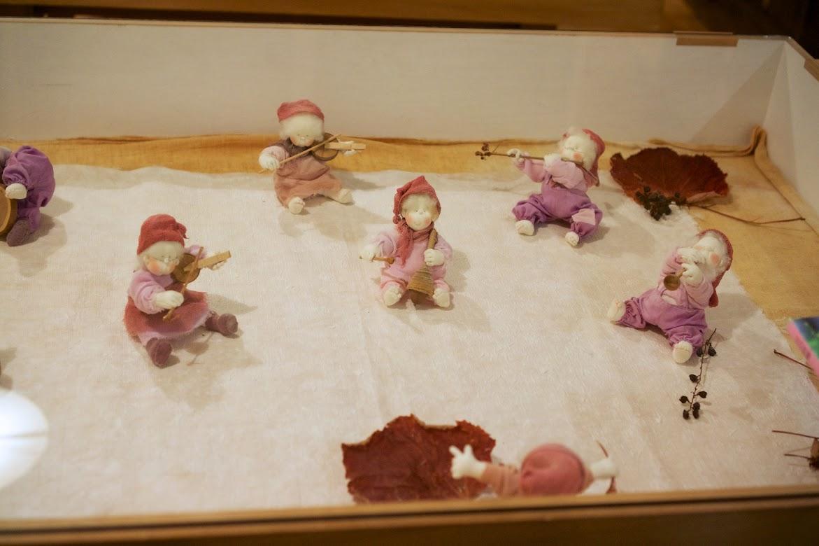 宇治静穂さんのお人形たち