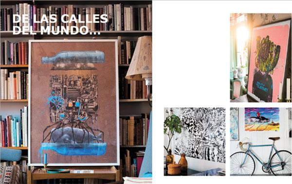 Láminas IKEA de arte urbano