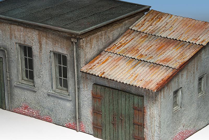 Yoryi puntocom modelismo y maquetas tejados de chapa - Material para tejados ...