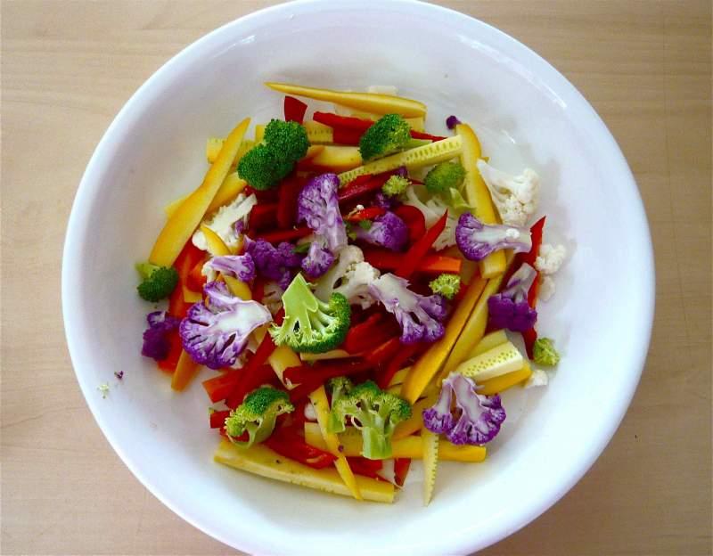 Žiedinių kopūstų salotos
