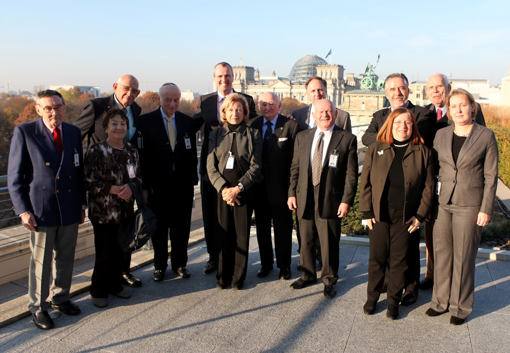 Ambassador Murphy and the delegation from the Jewish Claims Conference (JCC)