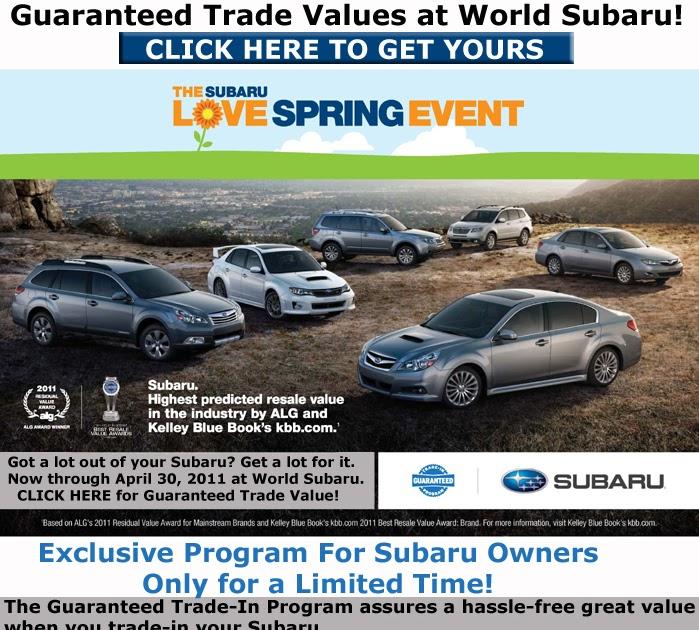 Jeep Lease Deals Philadelphia: World Jeep Subaru: GUARANTEED TRADE VALUES IN MONMOUTH