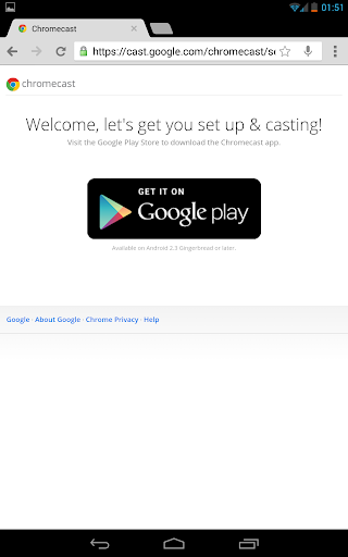 Google Chromecast experience in Germany - 2