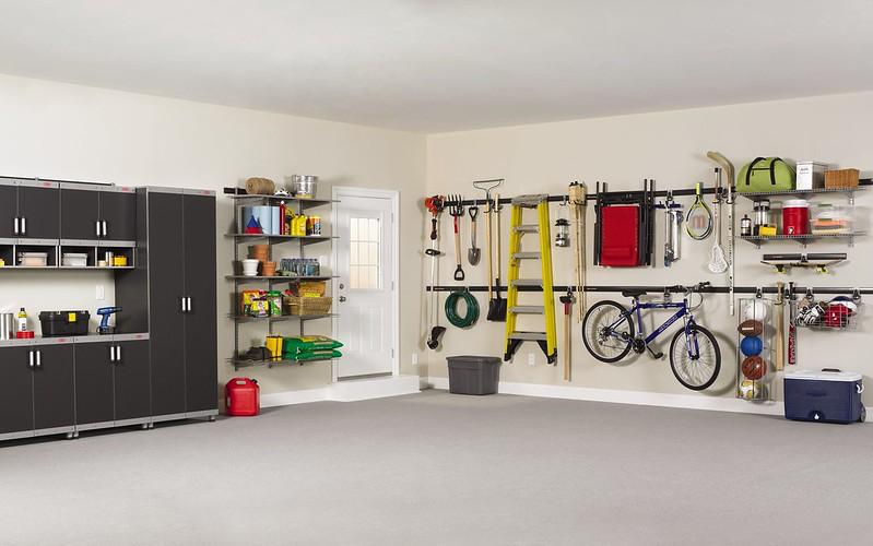 Upgrade Garage - 2. Installing Custom Storage Solutions