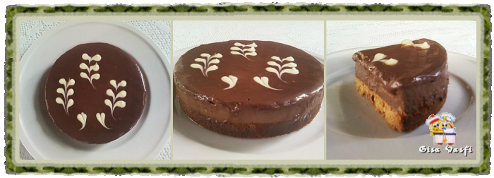 Decorando tortas com chocolate
