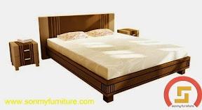 Mẫu giường ngủ SMF 744