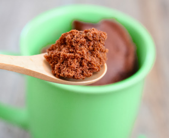 close-up photo of a spoonful of chocolate cake
