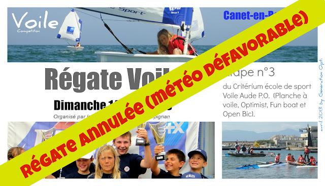 Voile Optimist régate critérium Canet-en-Roussillon Pyrénées_Orientales 66