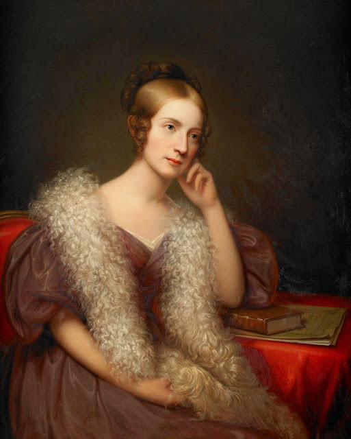 Rembrandt Peale - Portrait of Caroline Louise Pratt