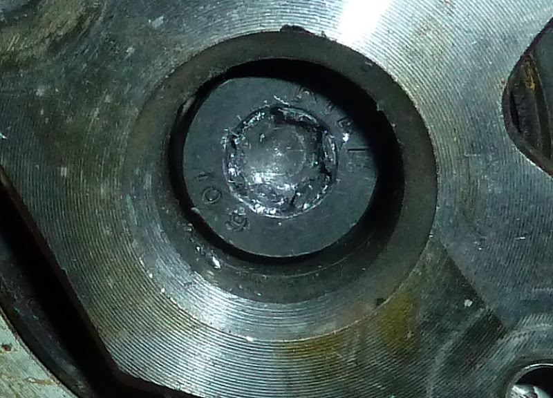 Ahhh Shi Stripped Torx Bolt Preventing Removal Of