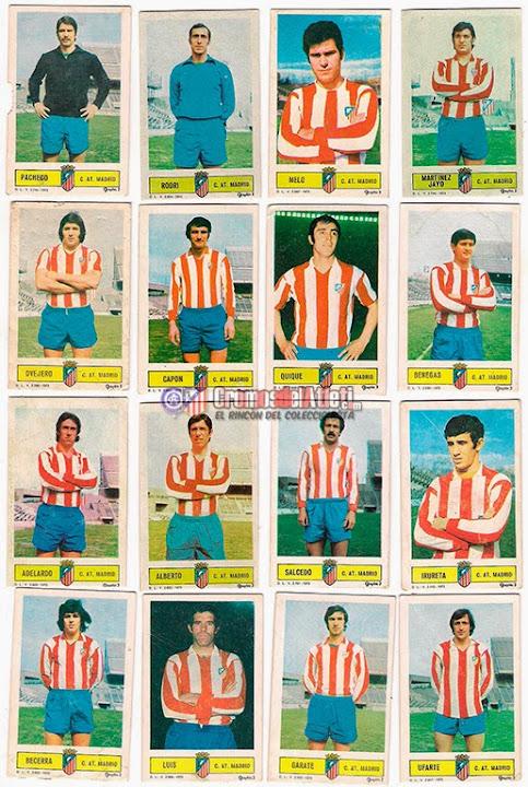 At. Madrid - Ediciones ESTE 73/74