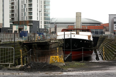 SS Nomadic in Belfast in Northern Ireland