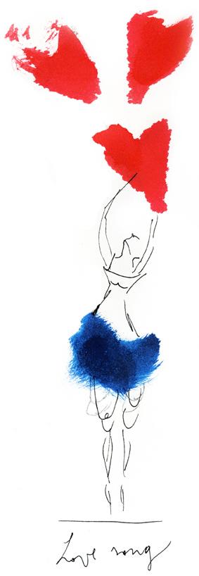 illustrazione amore ballarini