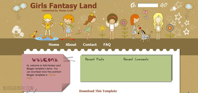 Girl's Fantasy Land