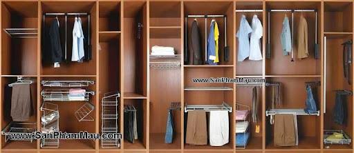 Sản xuất tủ quần áo gỗ tự nhiên
