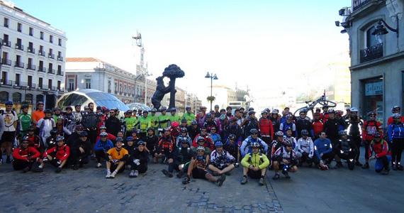 Salida desde Sol de la Red MTB 2011 a Alcalá de Henares - 20 de marzo de 2011