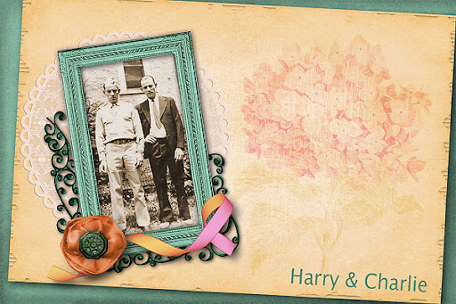 Harry and Charlie Garner