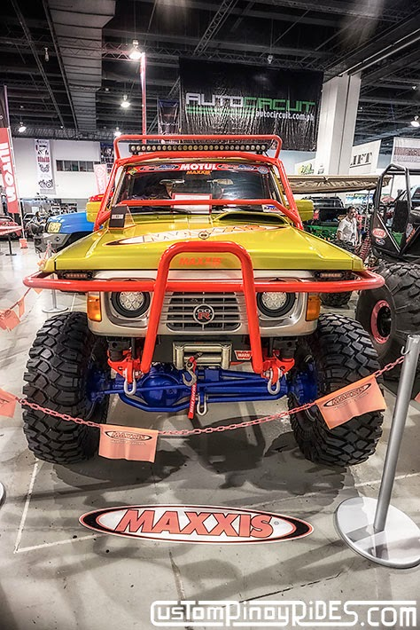 Some of the Best Modified 4x4s of 2013 Manila Auto Salon Custom Pinoy Rides Car Photography Philippines Philip Aragones Toyota LC70 Exocage2