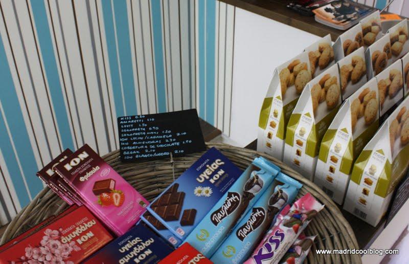 MADRID COOL BLOG JRONIA JRONIA tienda alimentos griegos comida griega chueca alonso martinez