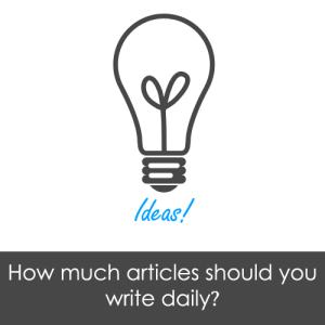 Berapa Banyak Yang Harus Anda Posting Setiap Hari di Blog Anda?