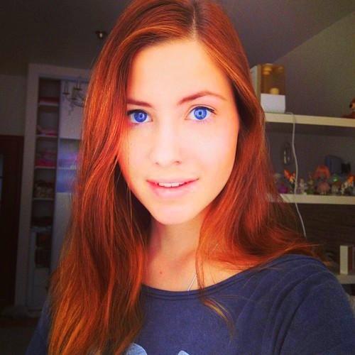 اجمل عيون بنات - صور بنات زرقاء براقة