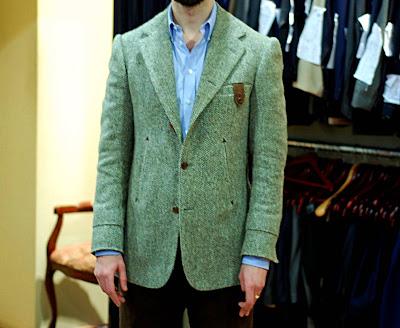 Final tweed jacket from Cifonelli
