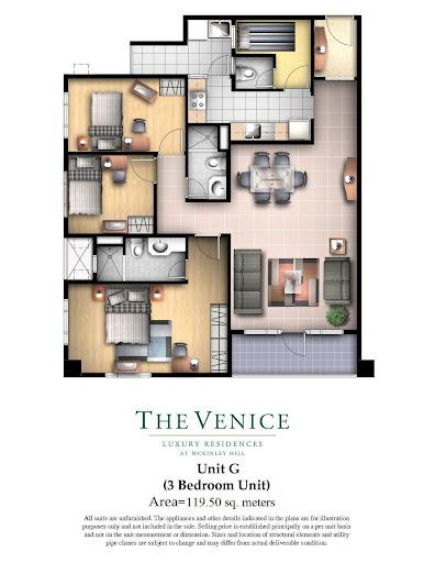 3 bedroom venice condo