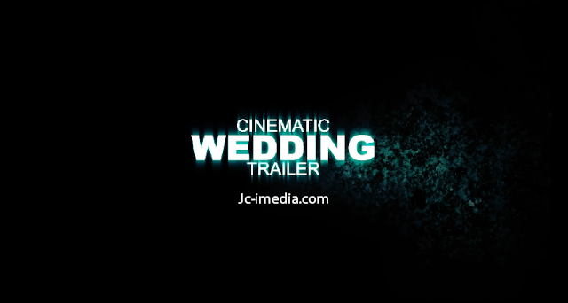 After Effect Project Cinematic Wedding Trailer