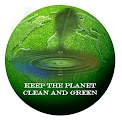 Green planet image