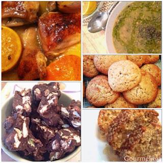 Κοτόπουλο στην Γάστρα, Ροβίτσα Σούπα, Rocky Road, Μπισκότα Μπανάνας, Κέικ με Βρώμη και Μέλι