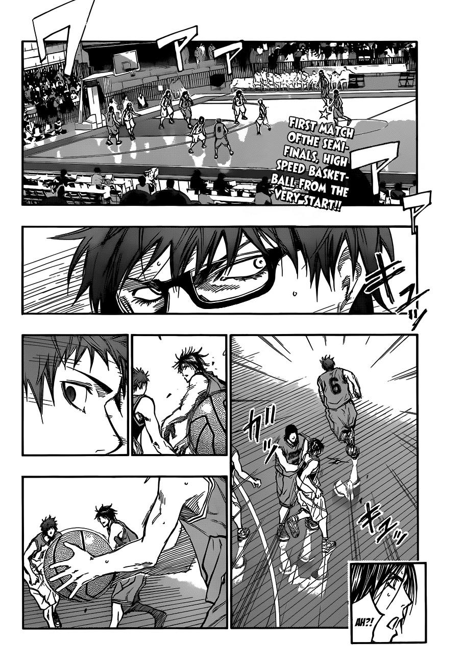 Kuroko no Basket Manga Chapter 176 - Image 02