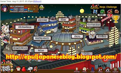 2nd Anniversary Ninja Saga Ulang Tahun Ninja Saga yang kedua