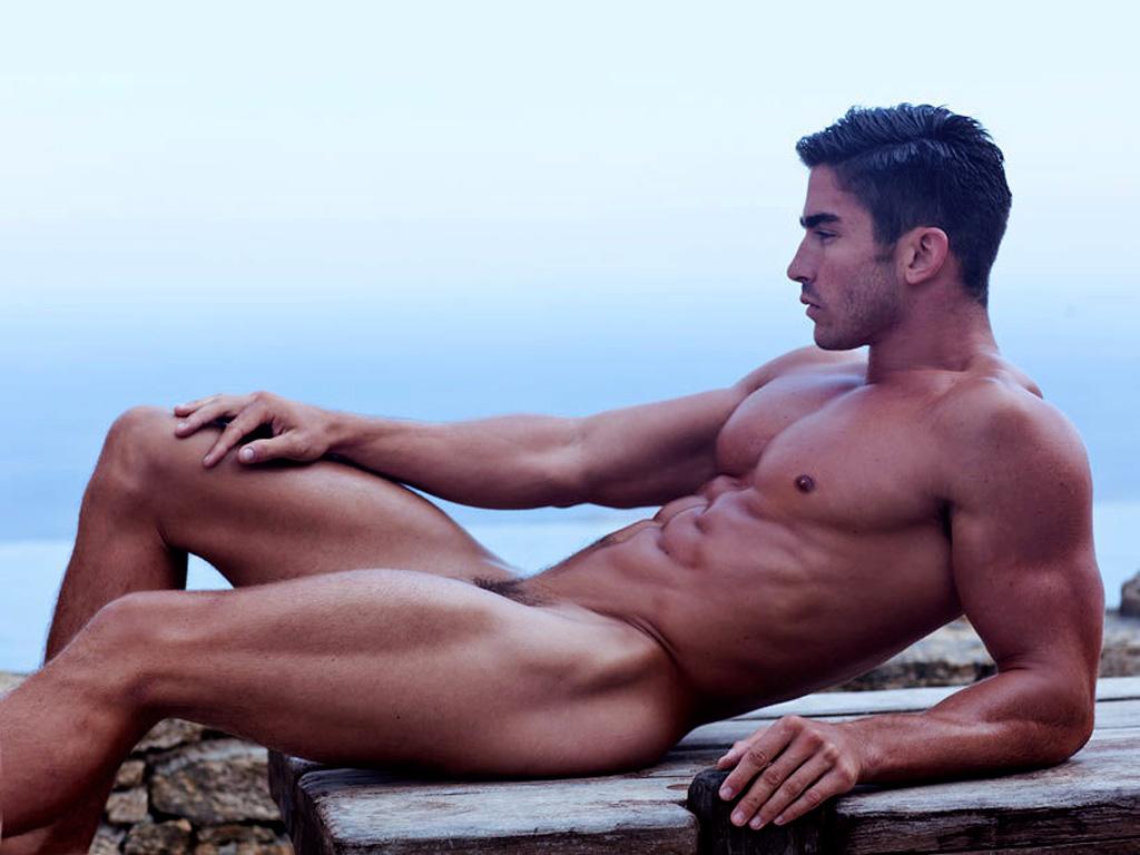 Naked Man Flashes Behind Notoriously Anti