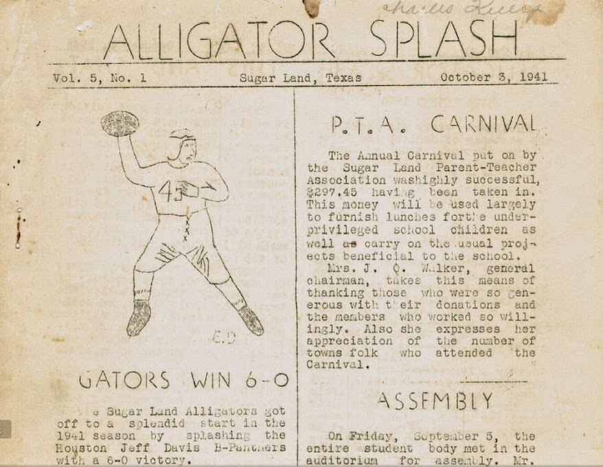 1941 Alligator Splash